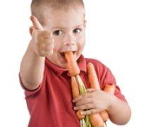 Cum invatati copiii sa manance morcovi