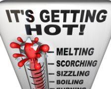 Codurile galbene si portocalii de canicula duc la lipotimii si deshidratari