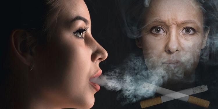 fumatul pielea