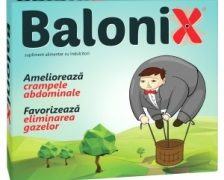 Balonix va scapa de disconfortul abdominal