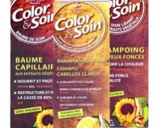 Color&Soin Sampon si balsam pentru par vopsit