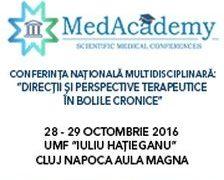 "Conferinta Interdisciplinara ""Directii si perspective terapeutice in bolile cronice"""