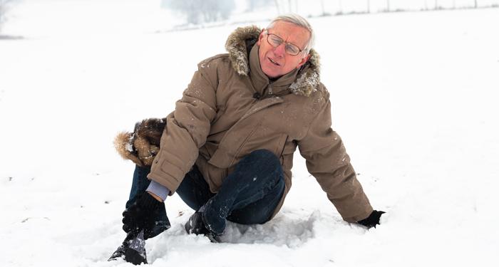 Sfaturi pentru siguranta seniorilor pe timp de iarna
