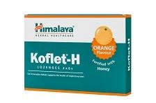Koflet-H aroma de portocale elimina tusea si durerile in gat