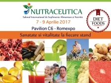 Cea de-a doua editie NUTRACEUTICA & DIET FOOD