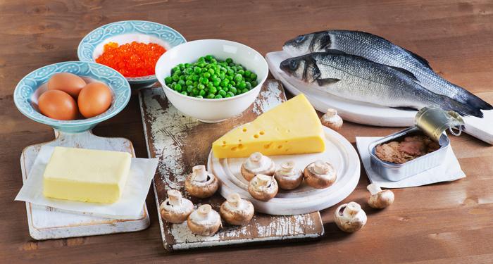 Alte surse de vitamina D: pestele, ciupercile, branzeturile