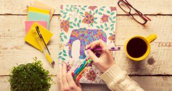 Cartile de colorat: relaxare garantata