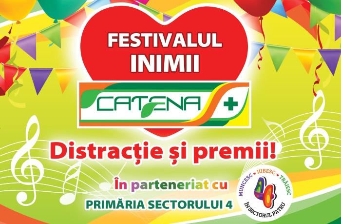 Weekend cu muzica si voie buna la Festivalul Inimii Catena