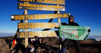 O curajoasa farmacista de la CATENA a cucerit Kilimanjaro!