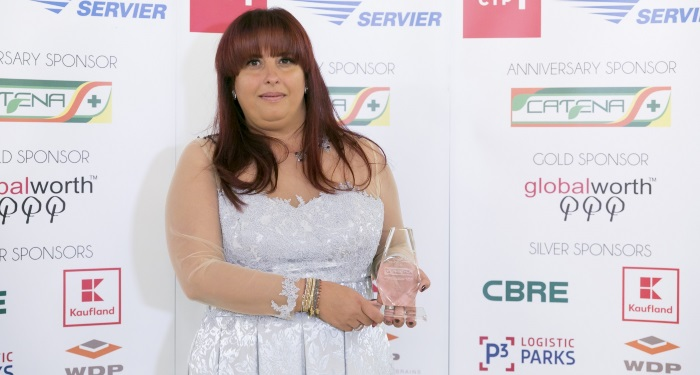 ALINA MARINESCU, Director General_CATENA_HOSPICE Champion Award 2017