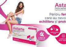 Un produs nou, inovativ – Astarte – pentru confortul feminin
