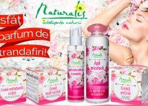 Mereu delicata si frumoasa ca un trandafir cu gama de produse cosmetice Naturalis!