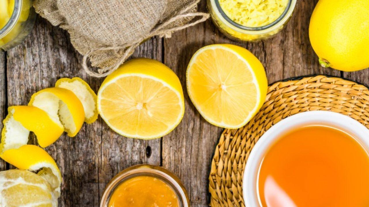 Ceai de lămâie cu miere