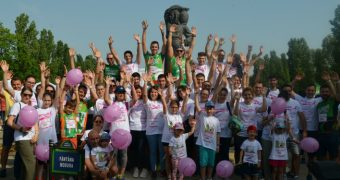 "CATENA, ""Cea mai inimoasa echipa"" la Happy Run – Race for the Cure Romania!"