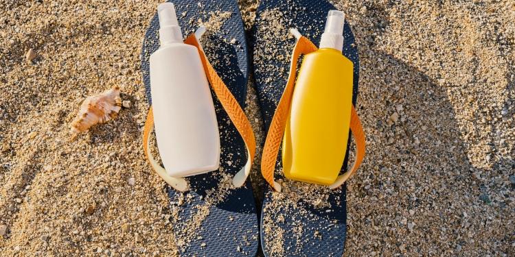 plaja, protectie UV