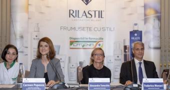Gama de dermato-cosmetice Rilastil, acum si in Romania, in farmaciile Catena!