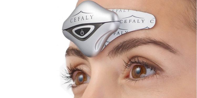 dispozitiv pentru migrene