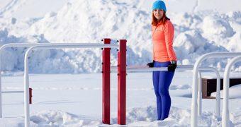 Ponturi pentru a face sport si iarna