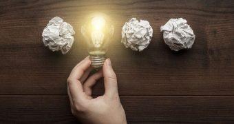 Ideile creative se nasc cu efort