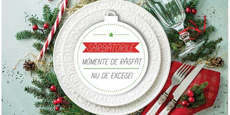 masă de crăciun, sărbători, calorii, probleme digestive, mâncare, kilograme, legume, fructe,