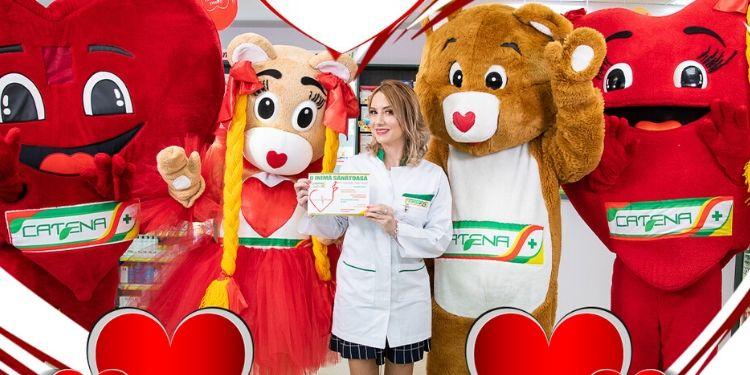 brosura inimii, Catena, Farmacia inimii, o inima sanatoasa iubeste mai mult, oferte Catena,