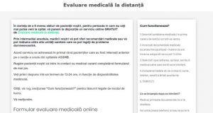 Evaluări medicale la distanță pentru bucureşteni