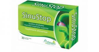 SinuStop – susţine sănătatea tractului respirator superior