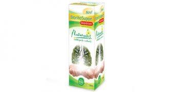 BronhoSuport – stimulează sistemul imunitar şi are proprietăţi antiseptice şi antitusive