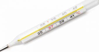 Temperatura corpului uman este în scădere