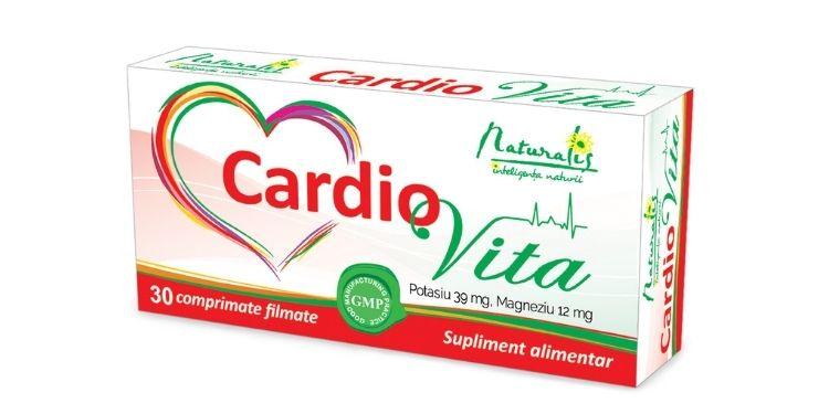 cardiovita, naturalis, catena, sanatatea inimii, minerale, afectiuni cardiovasculare,