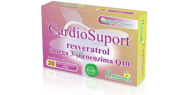 cardiosuport, naturalis cardiosuport, catena, suplimente naturalis, sanatate cardiovasculara,