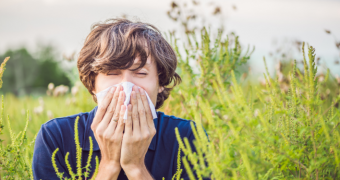 Polenul din aer ar putea creşte riscul îmbolnăvirii cu COVID-19
