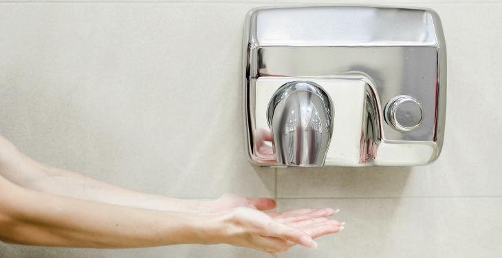 infectii, spălatul pe mâini, uscătoare de mâini, bacterii, germeni, COVID-19,