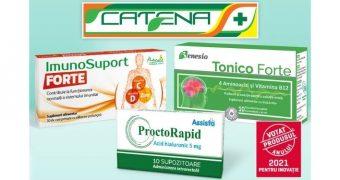 Benesio Tonico Forte, Naturalis ImunoSuport Forte şi Assista ProctoRapid, votate produsele anului 2021