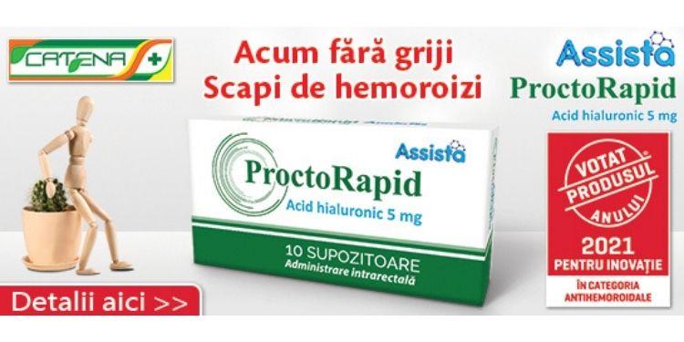 produsul anului, Assista ProctoRapid supozitoare, Naturalis ImunoSuport Forte, Benesio Tonico Forte, Catena,