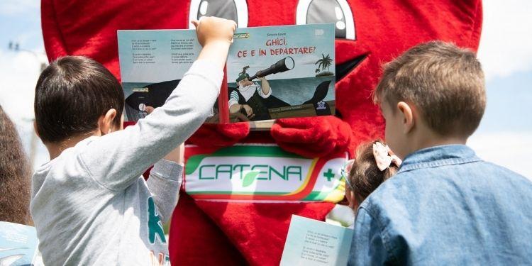 CATENA, Donează o poveste, Asociația OvidiuRo, carte,